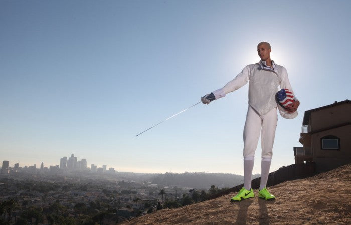 World Champ Miles Chamley-Watson 'Foils' Fencing Stereoypes