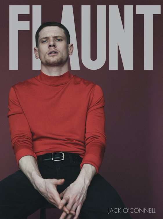 Jack O'Connell Covers Flaunt Magazine