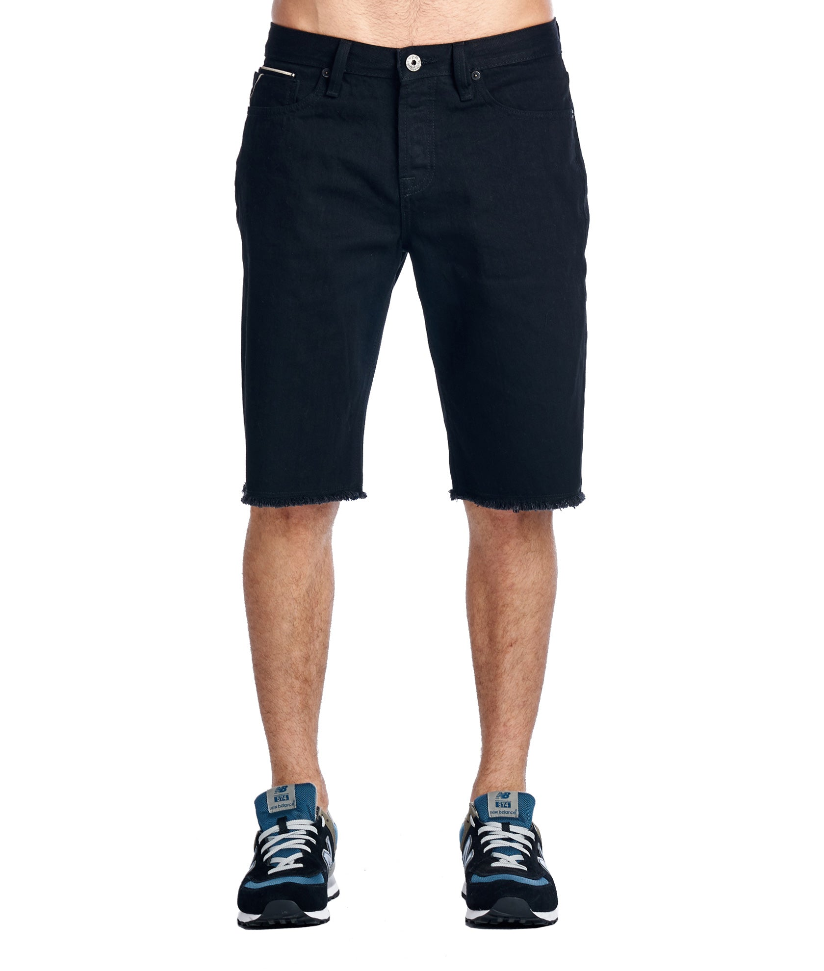 Cult of IndividualityMen's Rebel Denim Shorts in Black33