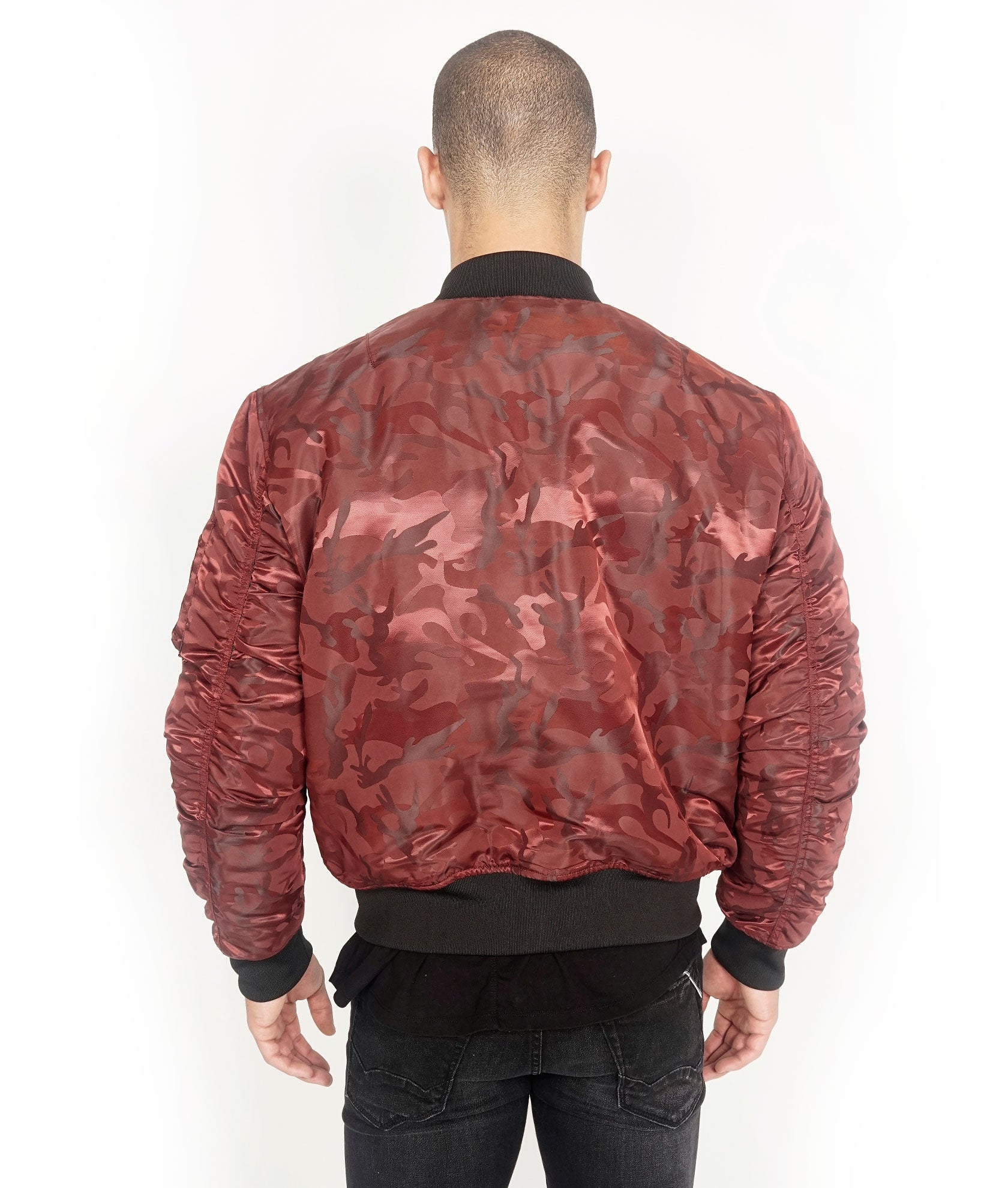 ceaaf1e30f450 ... Load image into Gallery viewer, Cult of IndividualityMen's  Reversible Bomber Jacket ...