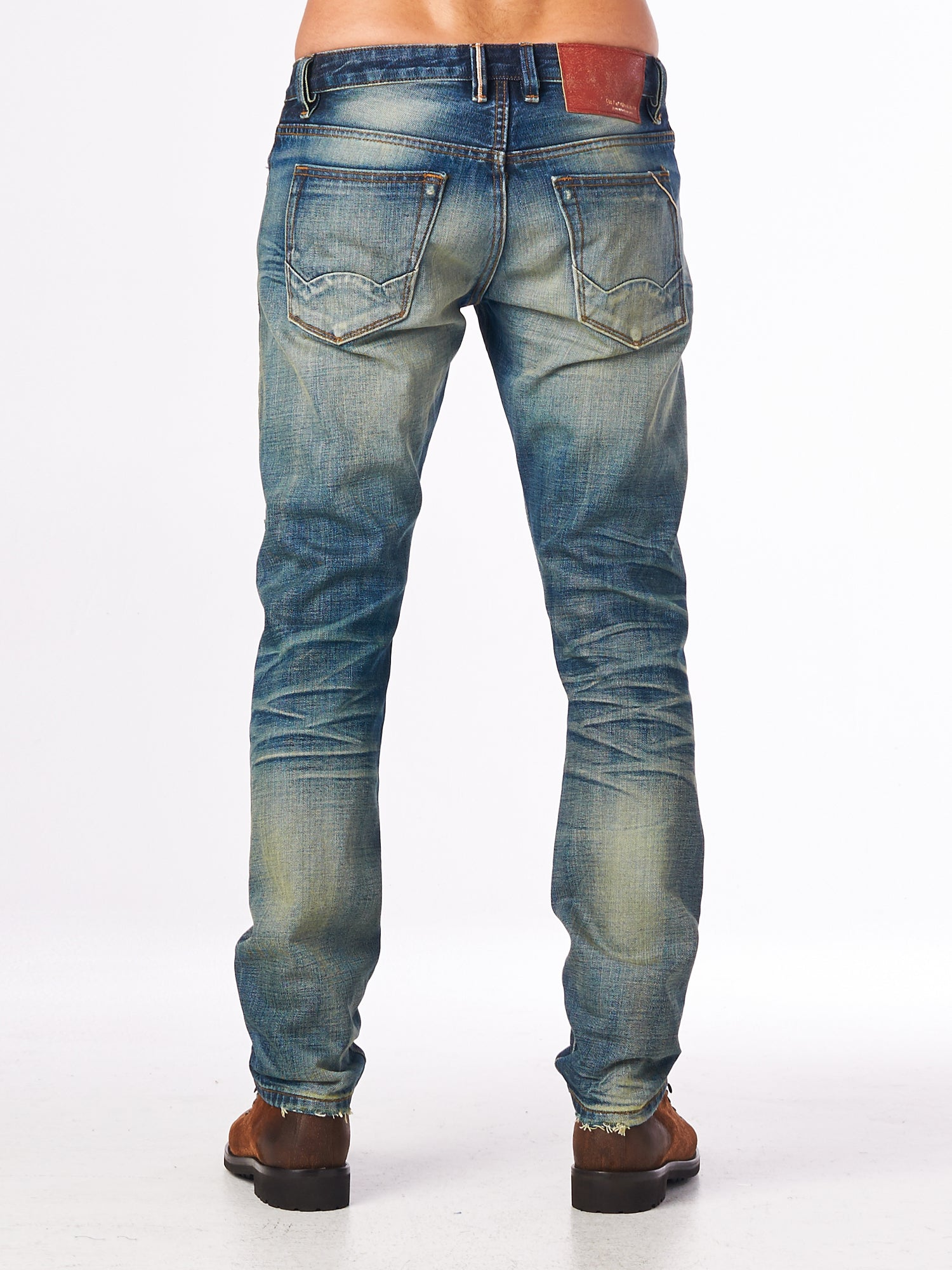 Cult of IndividualityMen's Rocker Slim Denim Jeans in Mccoy