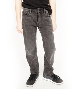 Cult of IndividualityKid's Jeans Rogue Slim Straight Stretch in Vintage Black