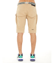 Load image into Gallery viewer, ROCKER CARGO SHORTS BELTED IN TAUPE