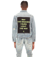 Load image into Gallery viewer, TYPE II DENIM JACKET IN NEON
