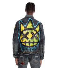 Load image into Gallery viewer, TYPE III DENIM JACKET STRETCH IN SULFUR