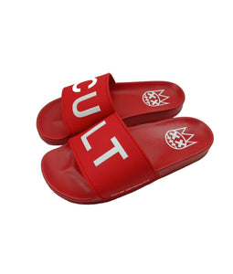 CULT SANDALS IN RED *BACKORDERED*