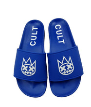 Load image into Gallery viewer, CULT SANDALS IN ROYAL BLUE