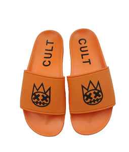 CULT SANDALS IN ORANGE