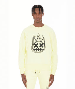 CREW NECK FLEECE IN LEMONADE