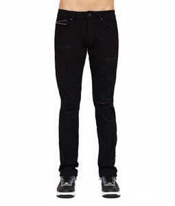 ROCKER SLIM - PREMIUM STRETCH IN BLACK INK