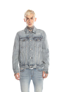 CORE TYPE II DENIM JACKET IN ACID