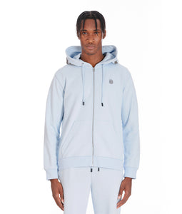 ZIP HOODY IN SKY