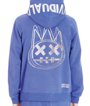 Load image into Gallery viewer, ZIP HOODY IN SURF BLUE