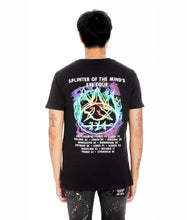 Load image into Gallery viewer, SPLINTER OF THE MIND'S EYE  SHORT SLEEVE CREW NECK TEE IN BLACK