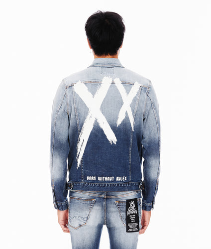 TYPE II DENIM JACKET IN XX GLACIER