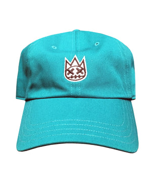 Shimuchan Dad Hat with Exaggerated Strap in Tidepool
