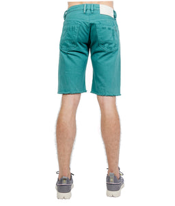 Cult of IndividualityMen's Rebel Denim Shorts in Tidepool