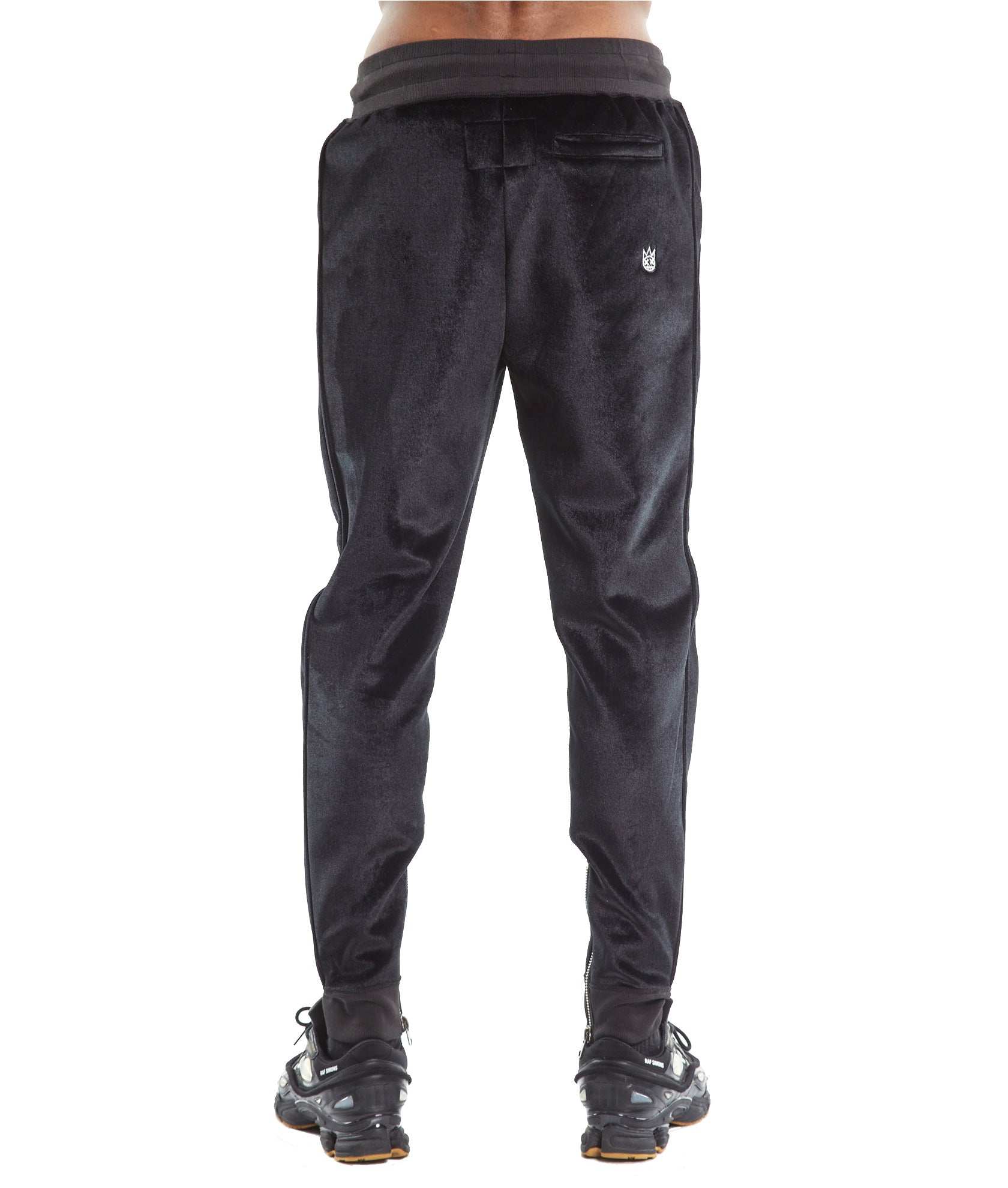 Cult of IndividualityMen's Velour Sweatpants in Black