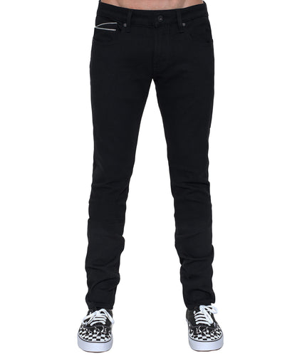 Cult of IndividualityMen's Rocker Slim Denim Jeans in Black44