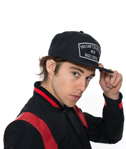 EPIC SHIT MESH TRUCKER CURVED VISOR CAP IN BLACK