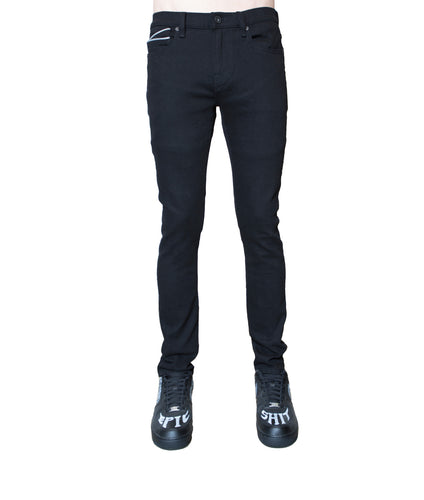 PUNK SUPER SKINNY PREMIUM STRETCH IN BLACK