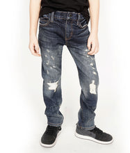Load image into Gallery viewer, Cult of IndividualityKid's Rogue Slim Straight Denim Jeans Stretch in Kinn