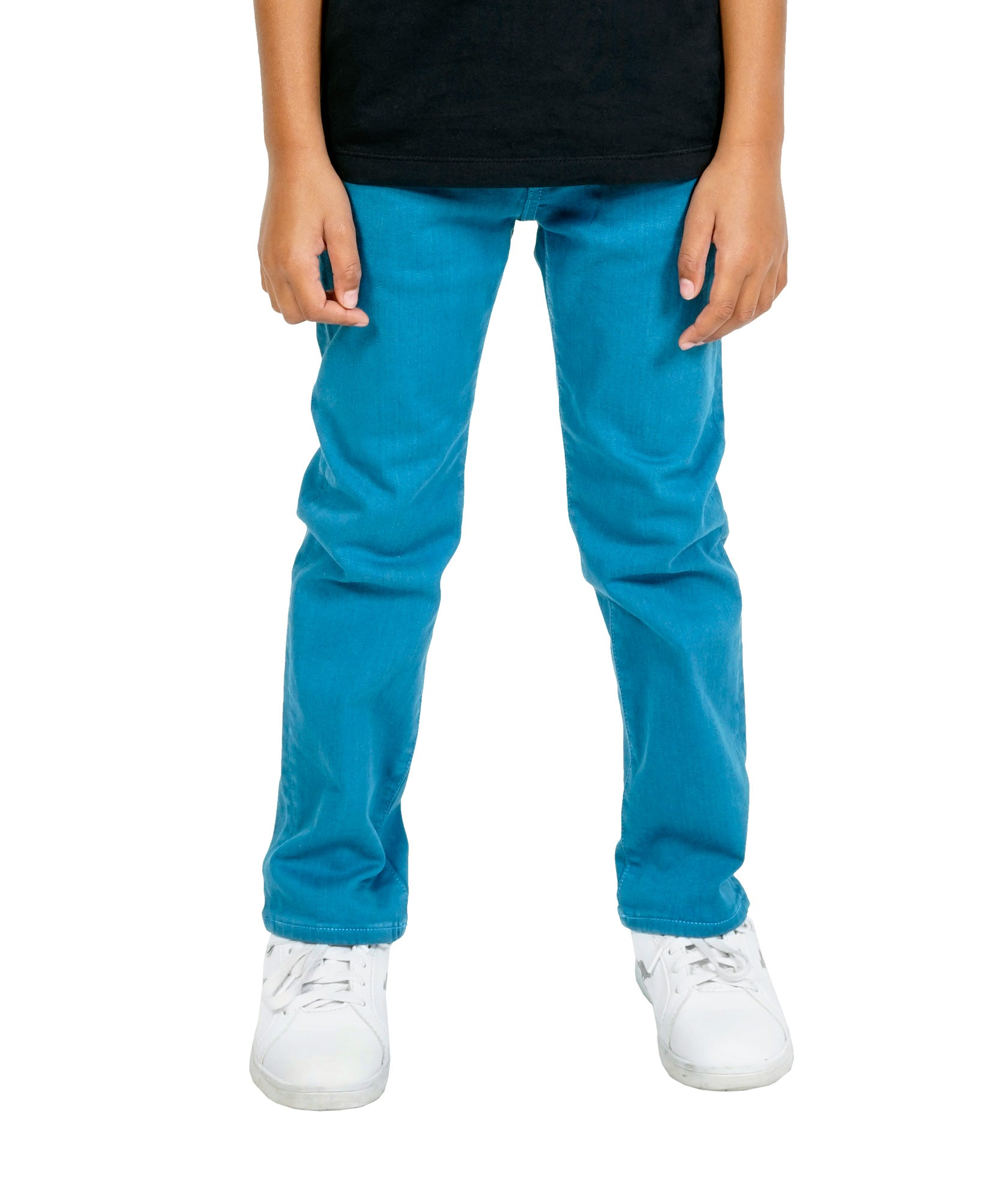 Cult of IndividualityKid's Jeans Rogue Slim Straight Stretch in Lyons Blue