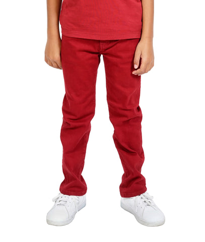 KID'S SKETCH SHIMUCHAN CREW T SHIRT IN RIO RED