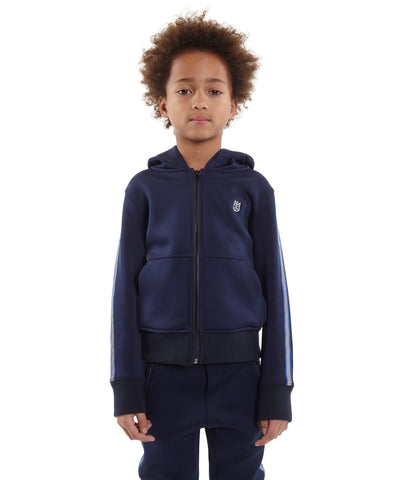 Kid's Moto Coated Denim Jacket in Coated
