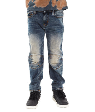 Cult of Individuality-KidsRogue Slim Straight Stretch Moto in Sifu