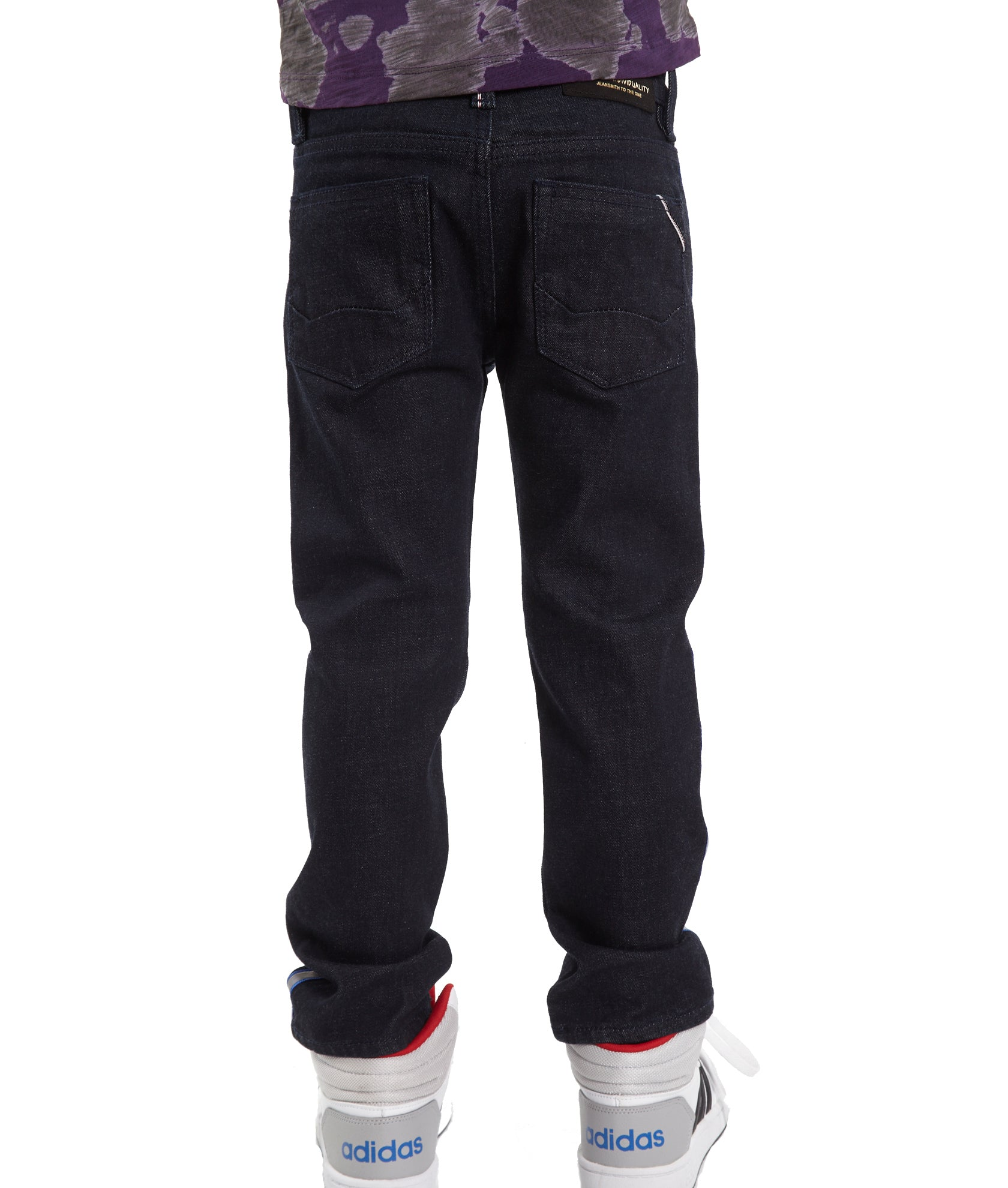 Cult of IndividualityKid's Rogue Slim Straight Stretch Denim Jeans in Rinse