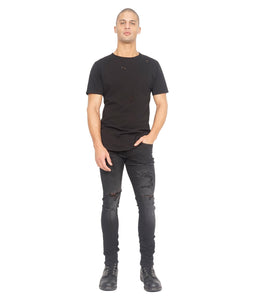 Cult of IndividualityMen's Punk Super Skinny in Jet Black