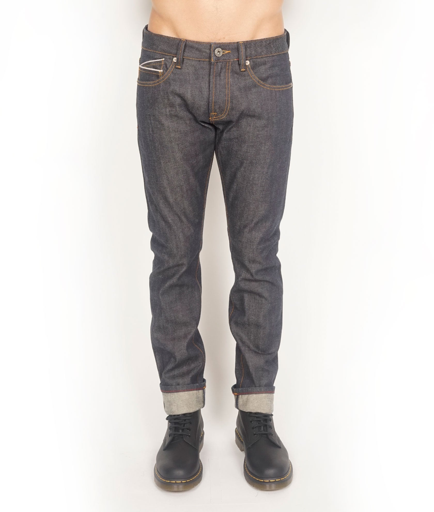 Men's Rocker Slim Denim Jeans in Dry${product_sku}