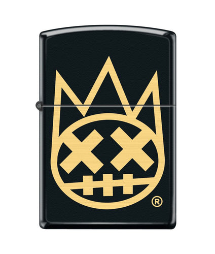 CULT SHIMUCHAN ZIPPO LIGHTER BLACK/GOLD *PREORDER*