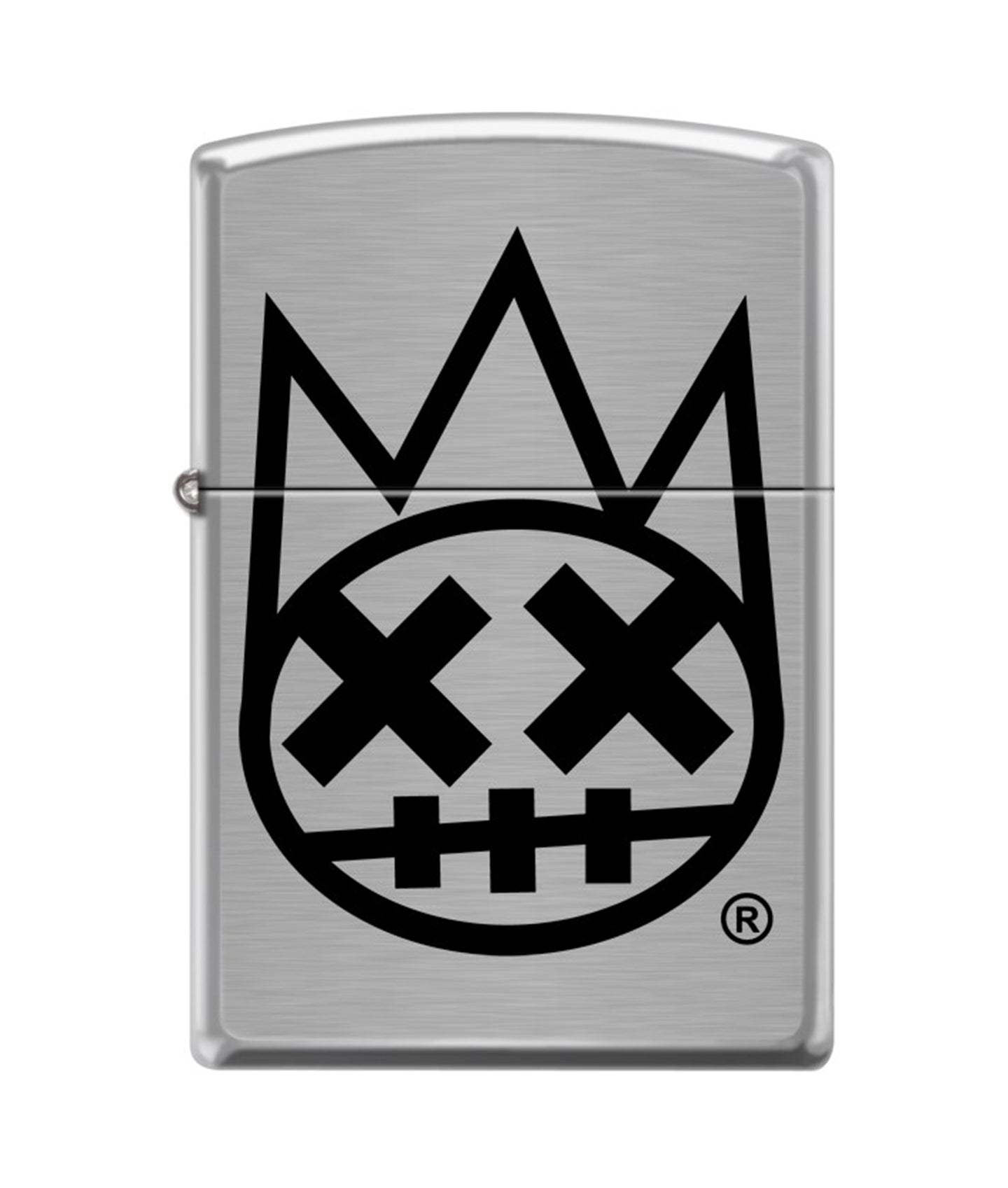 CULT SHIMUCHAN ZIPPO LIGHTER SILVER/BLACK