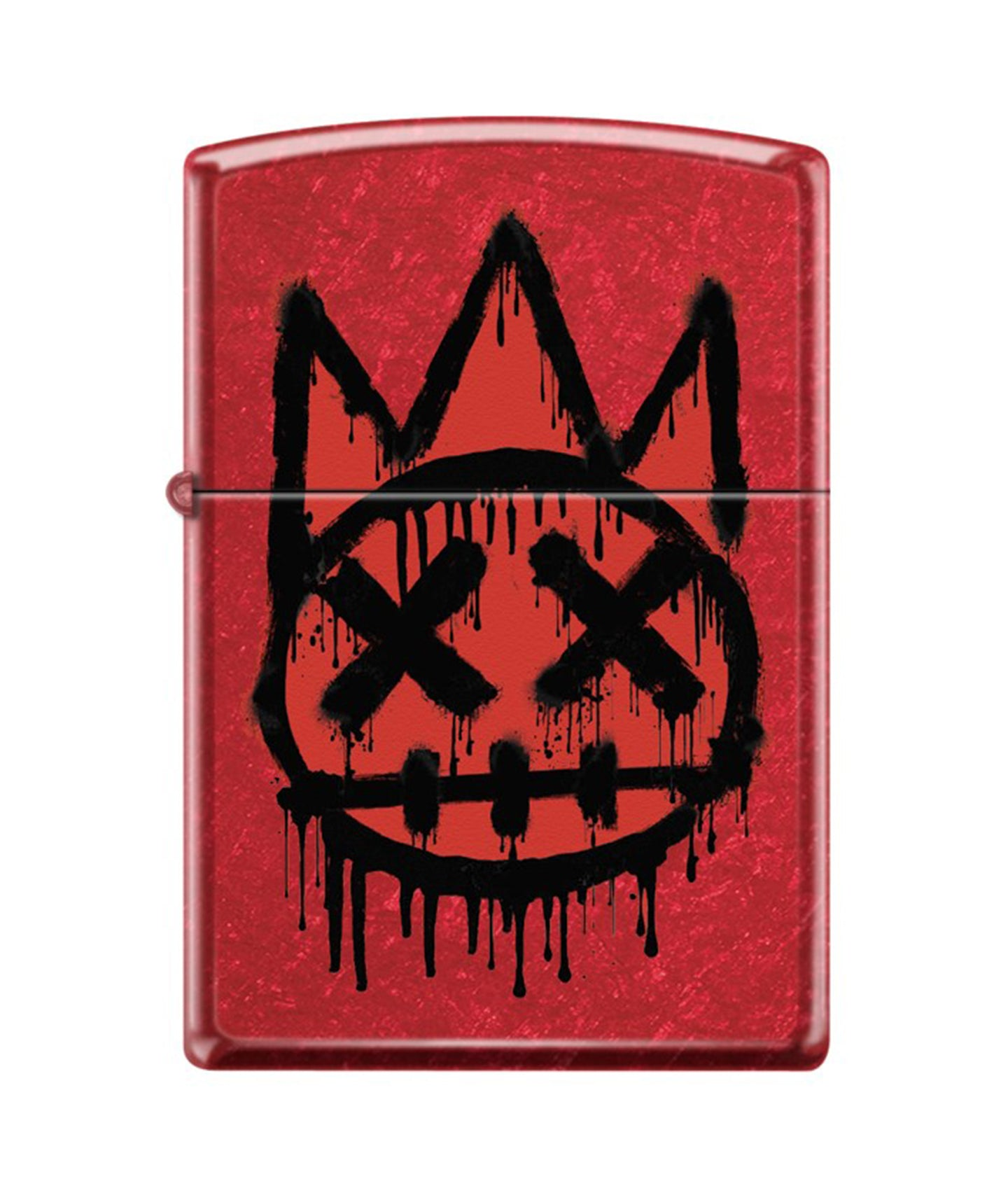 CULT SHIMUCHAN ZIPPO LIGHTER RED/BLACK (PREORDER)