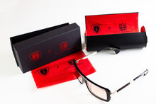 Load image into Gallery viewer, CULT X INITIUM EYEWEAR  GRADIENT RED LENSE RED FRAME SUNGLASSES W/ GUNMETAL
