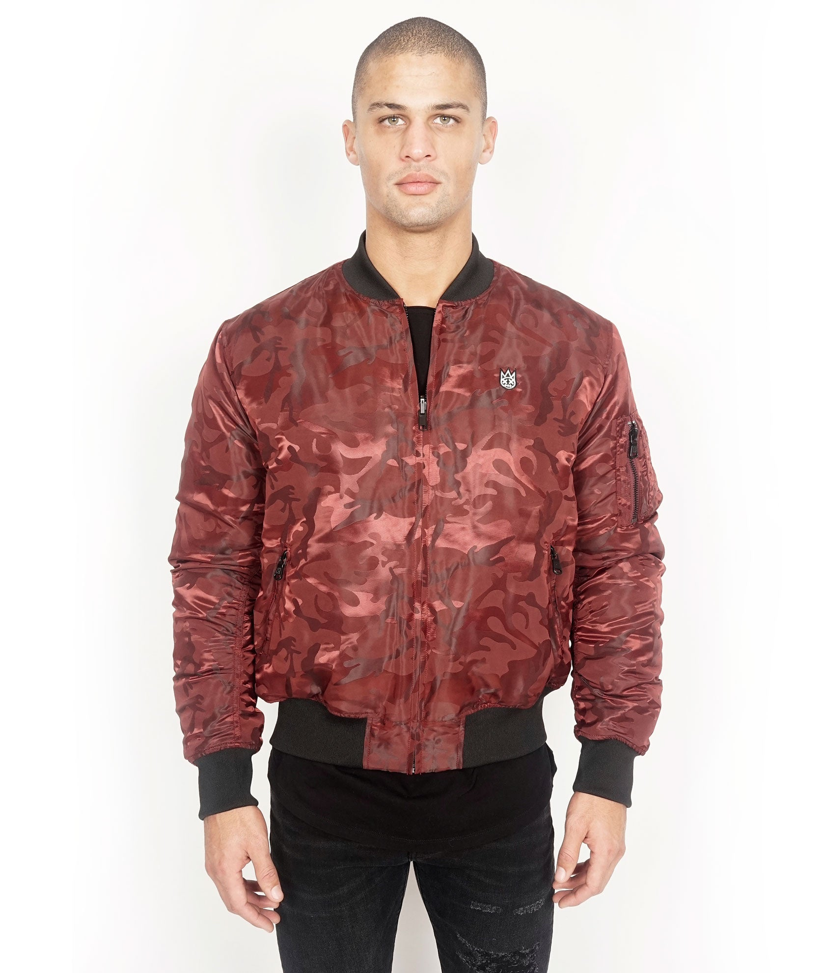 5ab8fd50943e8a Load image into Gallery viewer, Cult of IndividualityMen's Reversible  Bomber Jacket ...