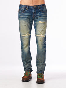 Cult of IndividualityMen's Rocker Slim Denim Jeans in Mccoy40