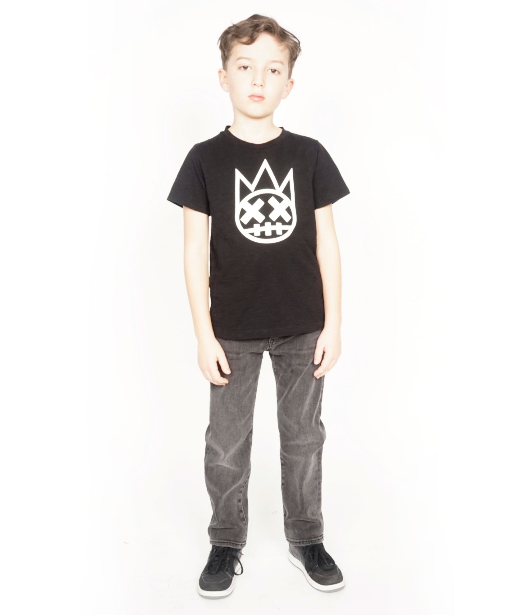 Kid's Rogue Slim Straight Stretch in Vintage Black${product_sku}