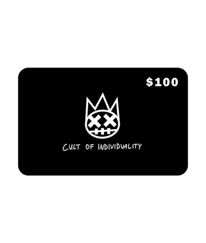 Cult of Individuality$100 CULT Gift Card