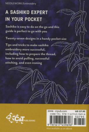Sashiko Handy Pocket Guide by Sylvia Pippen