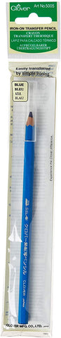 Clover Iron On Transfer Pencil - Blue