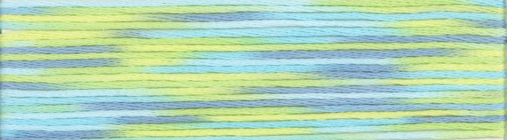 Cosmo Seasons Variegated Embroidery Floss 9000 series 9003-9004-9005-9006
