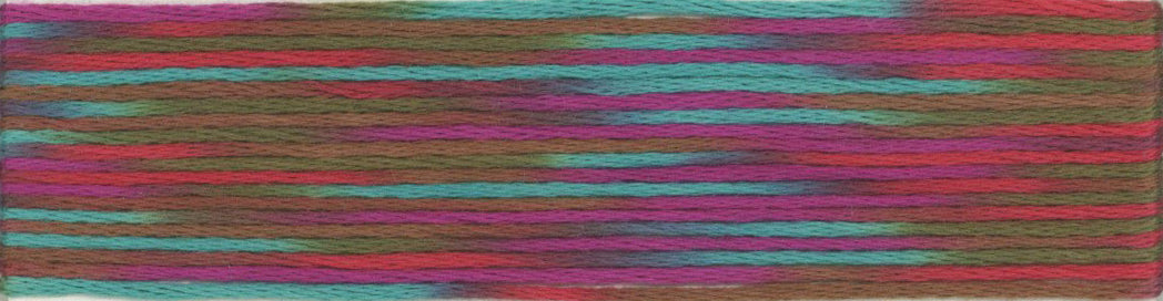 Cosmo Seasons Variegated Embroidery Floss 9000 Series-9009-9012-9014-9015