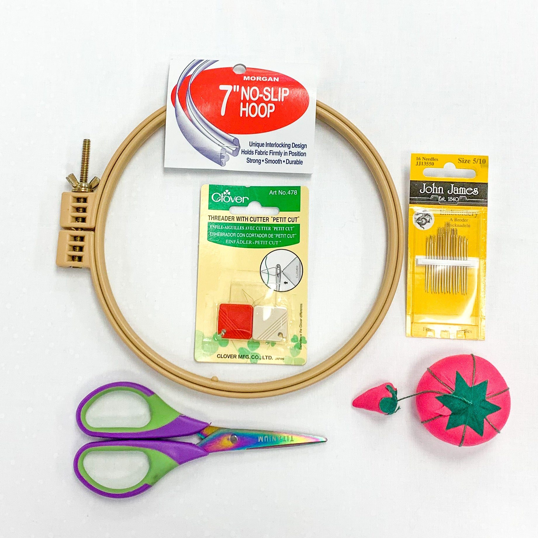 Embroidery Essentials Deluxe Supply Kit