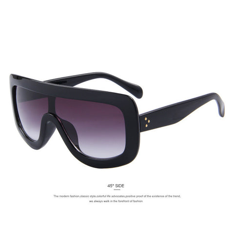 Women Vintage Square Sunglasses
