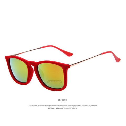Women Velvet Sunglasses