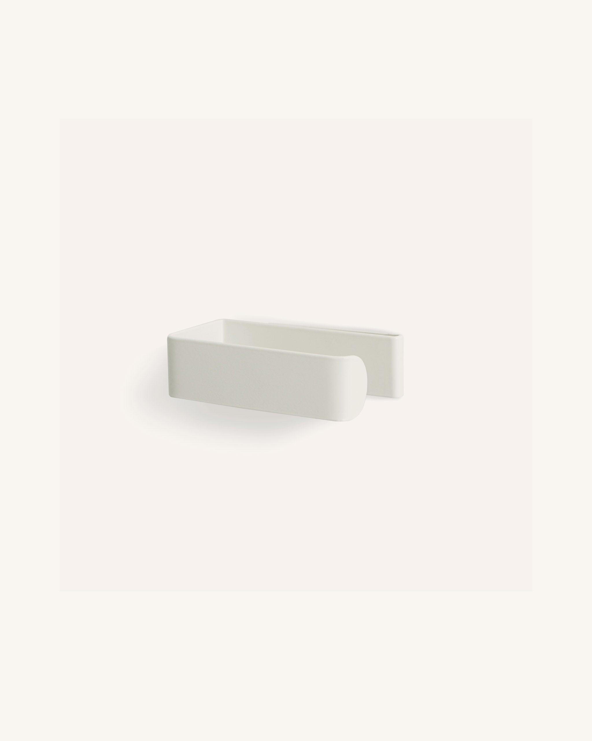 Toilet Roll Holder - White