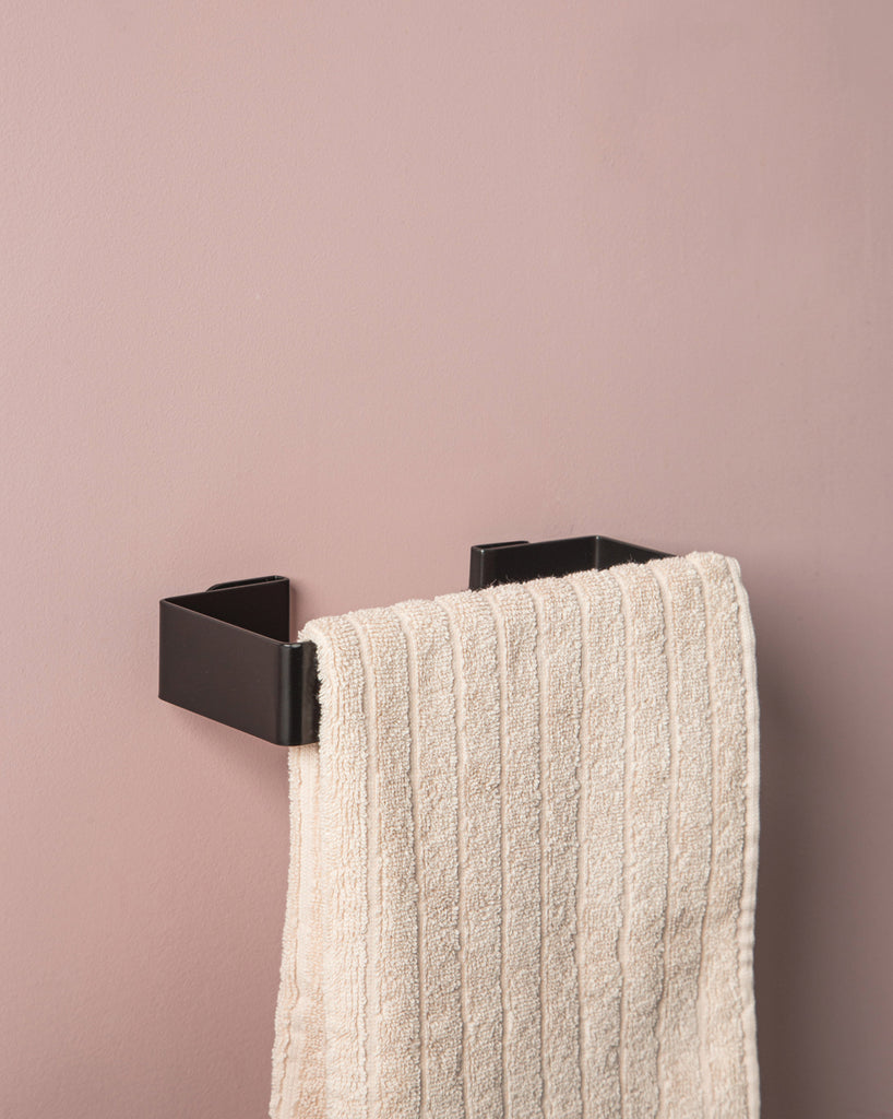 Hand Towel Holder - Black